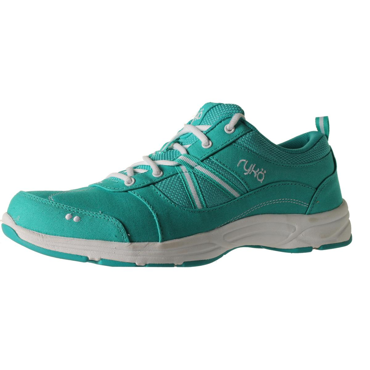 Ryka Womens Tempo Canvas Lace-Up Sneakers