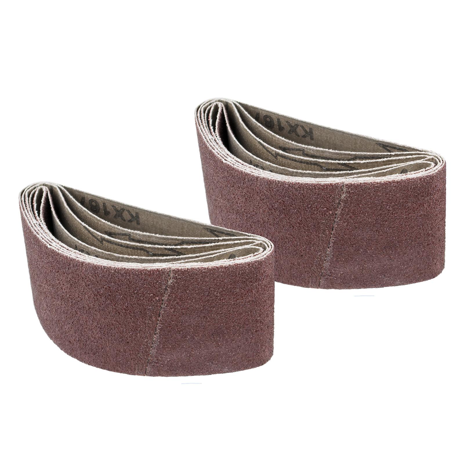10 Pack 371k Sander 2 1//2 Inch X 14 Inch 220 Grit Cloth Portable Sanding Belts