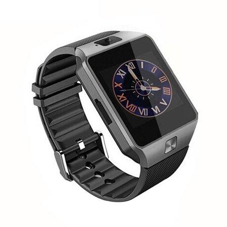 Hd Display Smart Watch Multi-Language Wechat/Qq/ Touch Screen Phone Watch - image 2 de 5