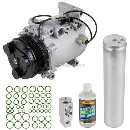 AC Compressor w/ A/C Repair Kit For Mitsubishi Endeavor & Galant 2004-2012