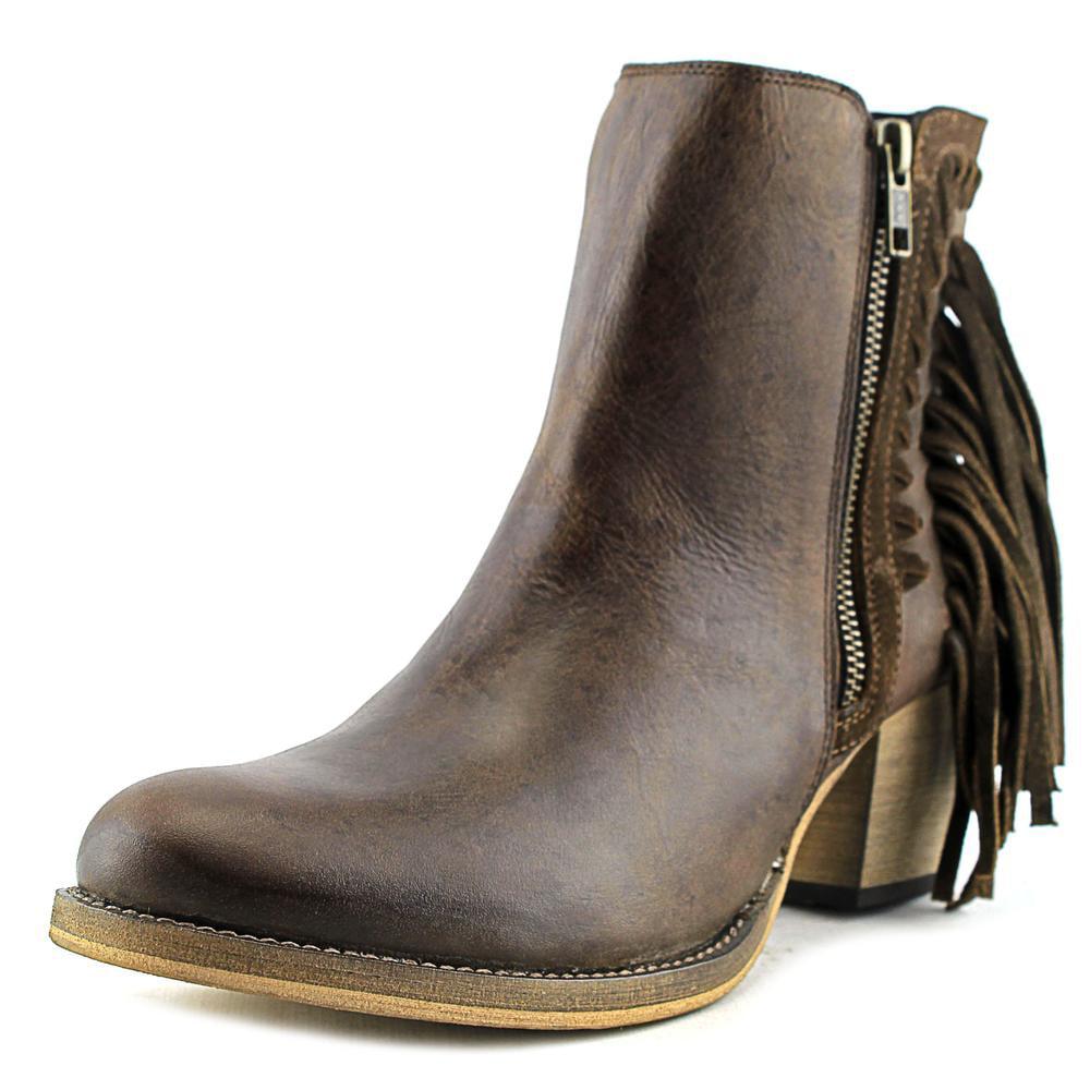 Dingo Izzy Round Toe Leather Western Boot by Dingo