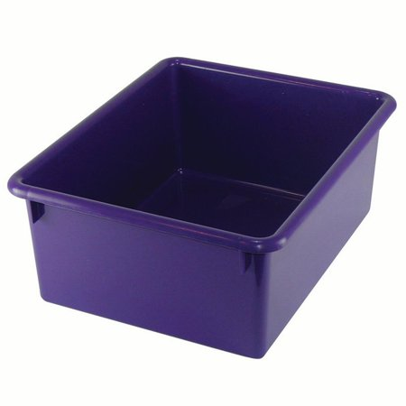 STOWAWAY LETTER BOX PURPLE NO LID 13-1/8 X 10-1/2 X 5-1/4 ()