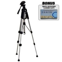 """Deluxe Pro 57"""" Camera Tripod with Carrying Case For The Sony DCR-SX83, SR68, SR88, HDR-XR100 Handycam Camcorder, Lightweight and collapsible to 22 inches By db,USA"""