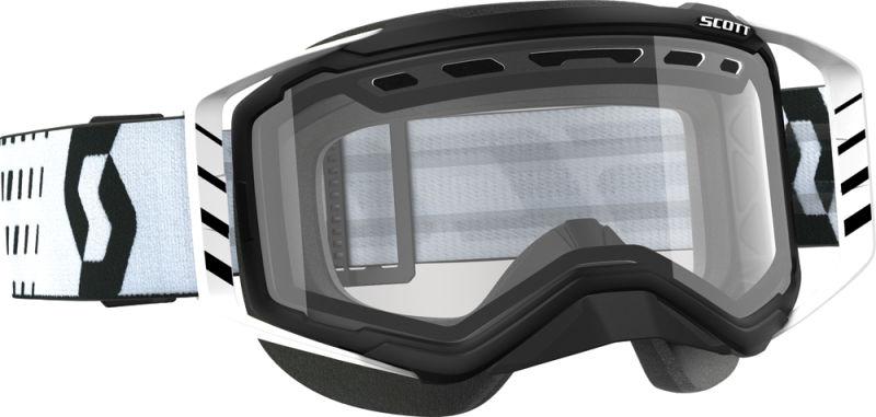 Goggle Prospect Snow Black White C Lear Lens Sx Blkwht Clear by SCOTT Sports