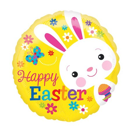 Anagram Happy Easter Bunny w Egg 18