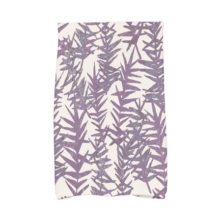 Simply Daisy's, 16 X 25 Inch, Spikey, Floral Print Kitchen Towel, Purple](Floral Dishes)