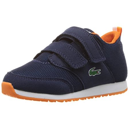 Lacoste Baby L.Ight 217 1, Navy, 6. M US Infant Lacoste Infant Shoes