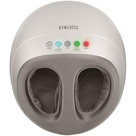 HoMedics Shiatsu Air Pro Foot Massager with Heat, Professional-Style Foot Massage FMS-350H