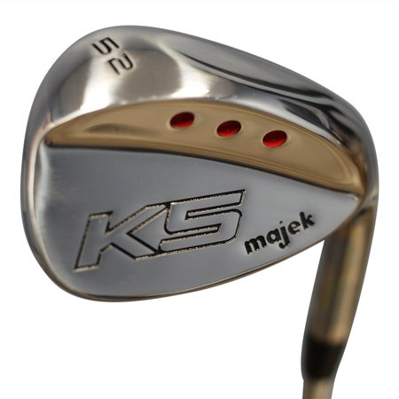 Majek Golf +2 inch Over XL Big & Tall Senior Men's Gap Wedge (GW) 52° Right Handed Senior Flex Steel Shaft (Tall 6'3