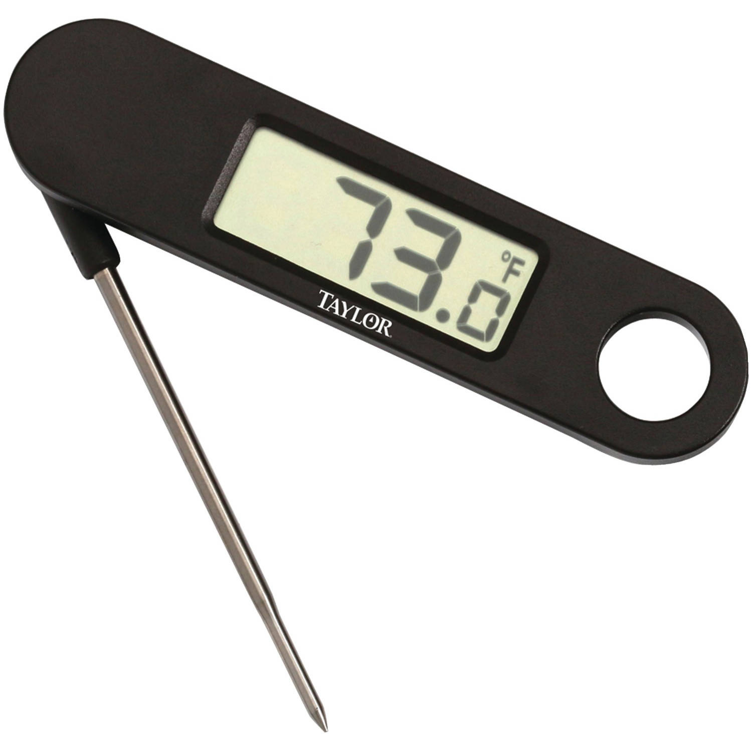 "Taylor 14769 Digital 0.7"" Lcd Folding Thermometer"