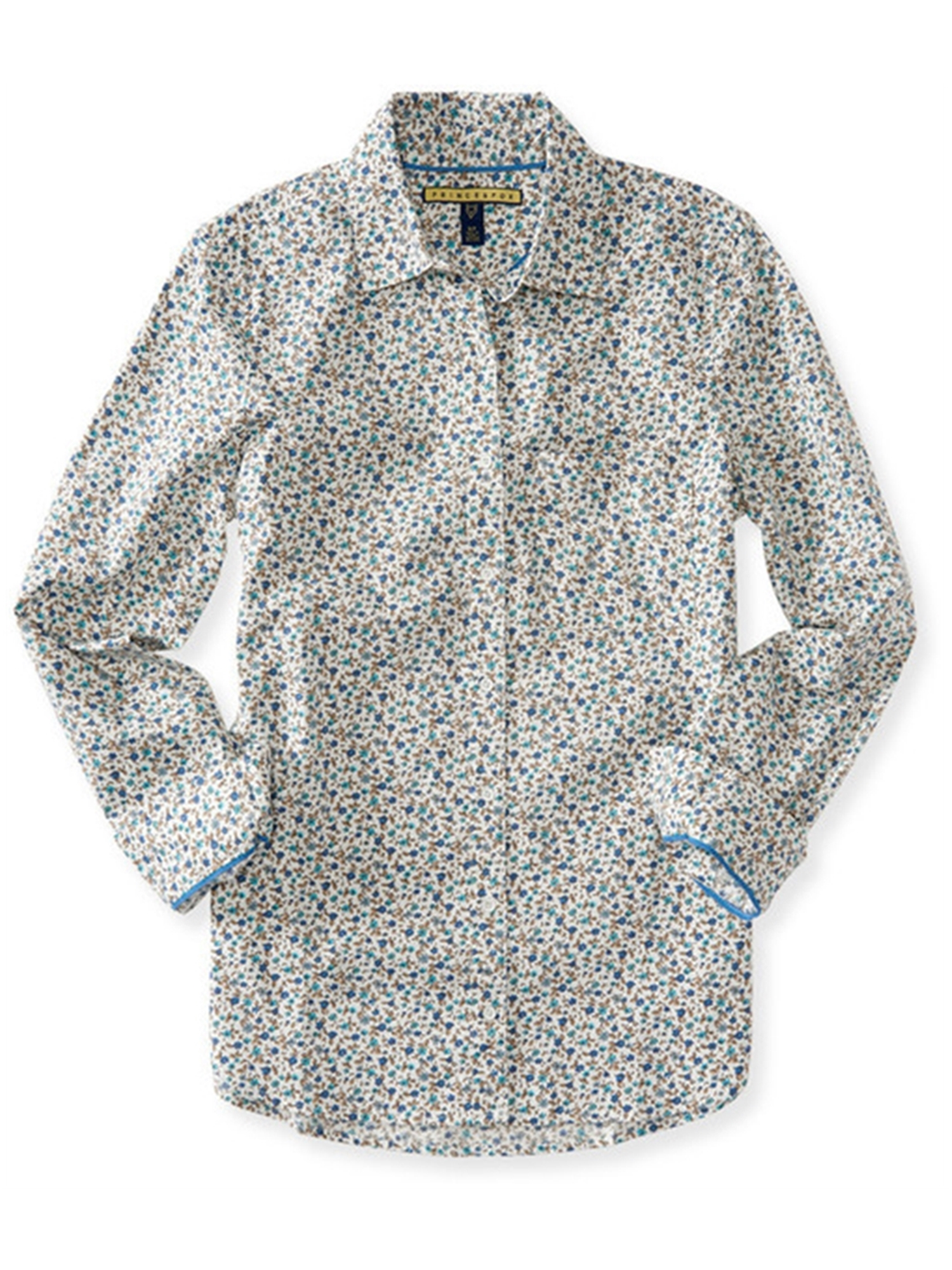 Aeropostale Juniors Ditsy Floral Button Up Shirt
