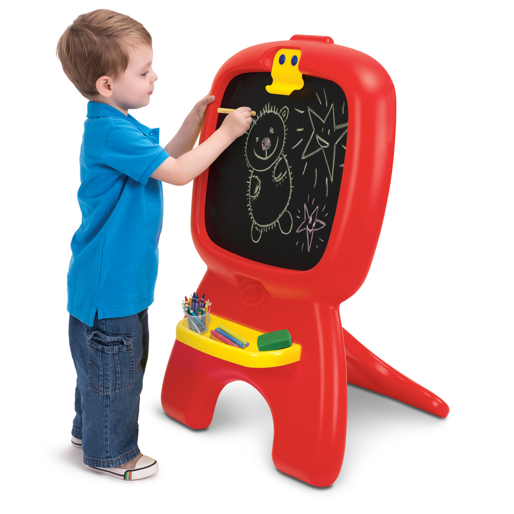 Crayola My First Draw N Dabble Chalkboard Easel by Grow'n Up Limited