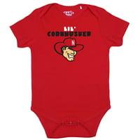Nebraska Cornhuskers Infant Lil Mascot Bodysuit - Scarlet