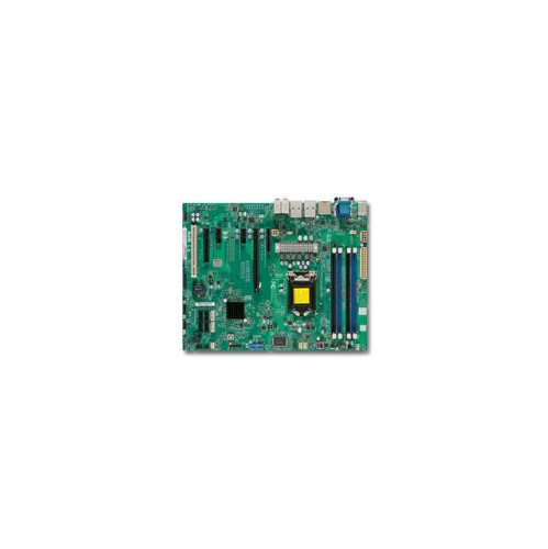 Super Micro X9sae Desktop Motherboard - Intel C216 Chipset - Socket H2 Lga-1155 - 1 X Bulk Pack - Atx - 1 X Processor Support - 32 Gb Ddr3 Sdram Maximum Ram - Serial Ata/300, Serial Ata/600 (128240)