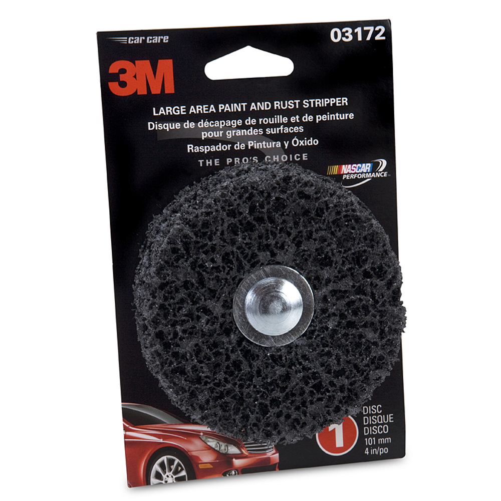 "3M(TM) Heavy Duty 4"" Automotive Rust & Paint Stripper"