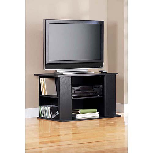 mainstays 32 tv stand in black color walmartcom - Walmart Small Tv Stands