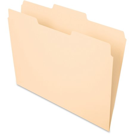 1/3 Pendaflex Essentials File (Pendaflex, PFX752132, Essentials 1/3-cut Manila File Folders, 100 / Box, Manila )