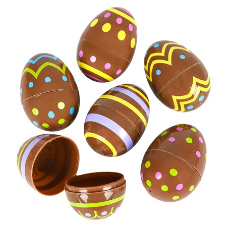 Rinco Chocolate Print Easter Eggs 2.5