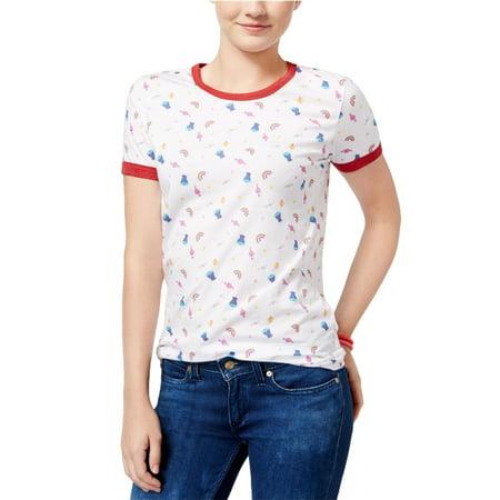 9c23e5e7 Dreamworks - Dreamworks Womens Trolls Ringer Graphic T-Shirt - Walmart.com