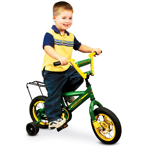 12'' John Deere Boys' Bike by Learning Curve