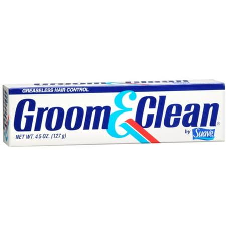 Groom & Clean Greaseless Hair Control 4.50 oz (Pack of