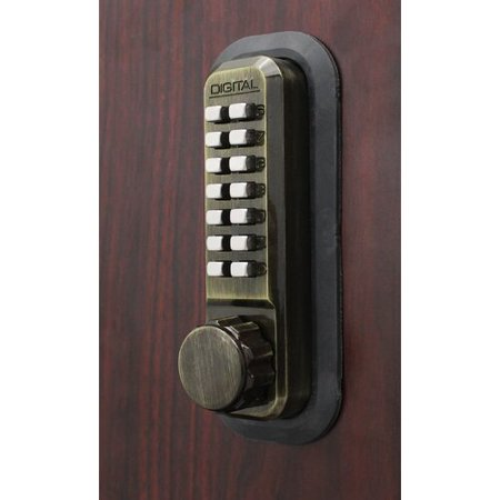 Lockey USA Digital Surface Mount Deadbolt Lock