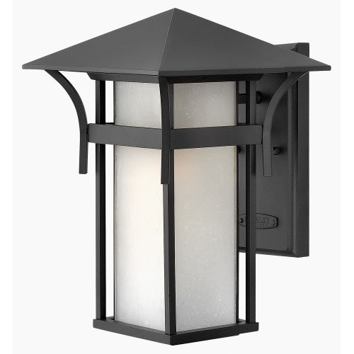 """Hinkley Lighting 2574 13.5"""" Height 1-Light Lantern Outdoor Wall Sconce from the Harbor Collection"""