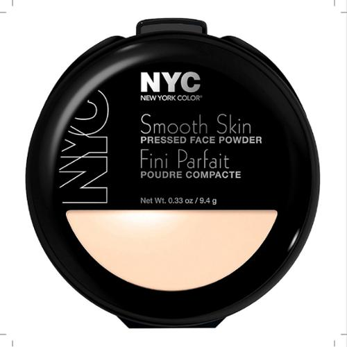 New York Color Smooth Skin Pressed Face Powder, Translucent [701A] 0.33 oz (Pack of 6)