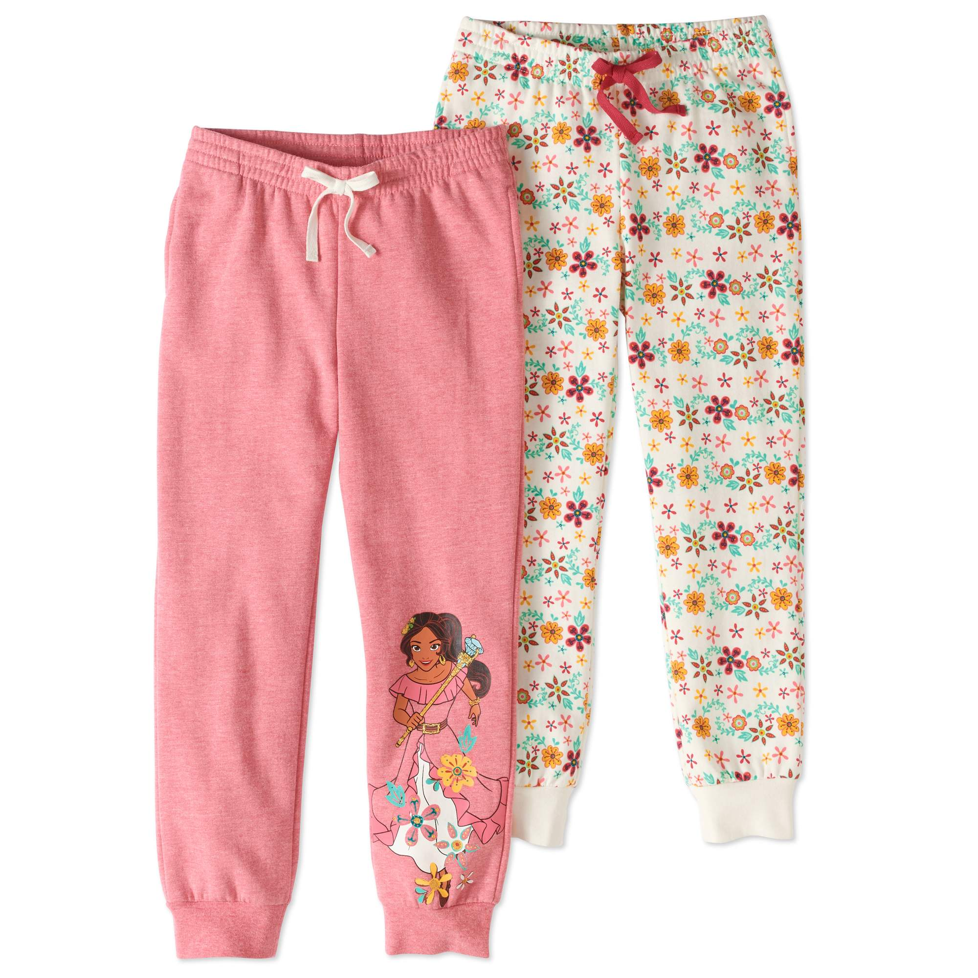 Elena Girls' Jogger Pants 2-Pack Set