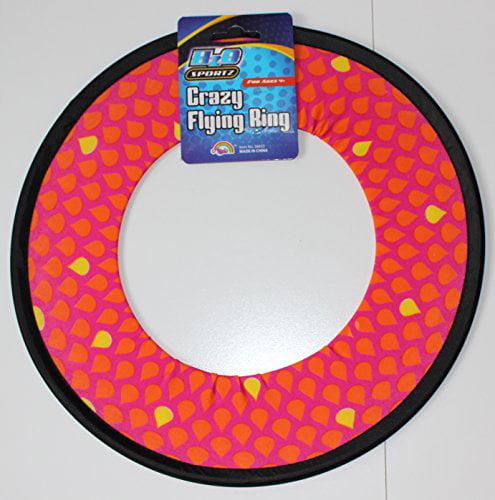 Soak N' Fling 12-inch Crazy Flying Ring Disc (Blue)