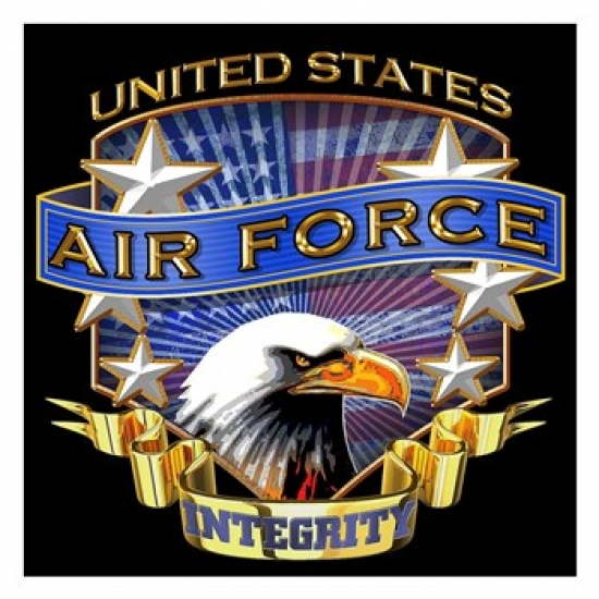 Air Force Poster Print by Jim Baldwin (26 x 26)
