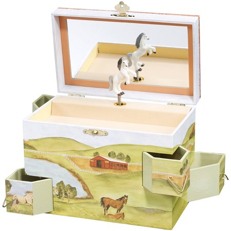 Music Treasure Box - Enchantmints Hideaway Horse Music & Treasure Box