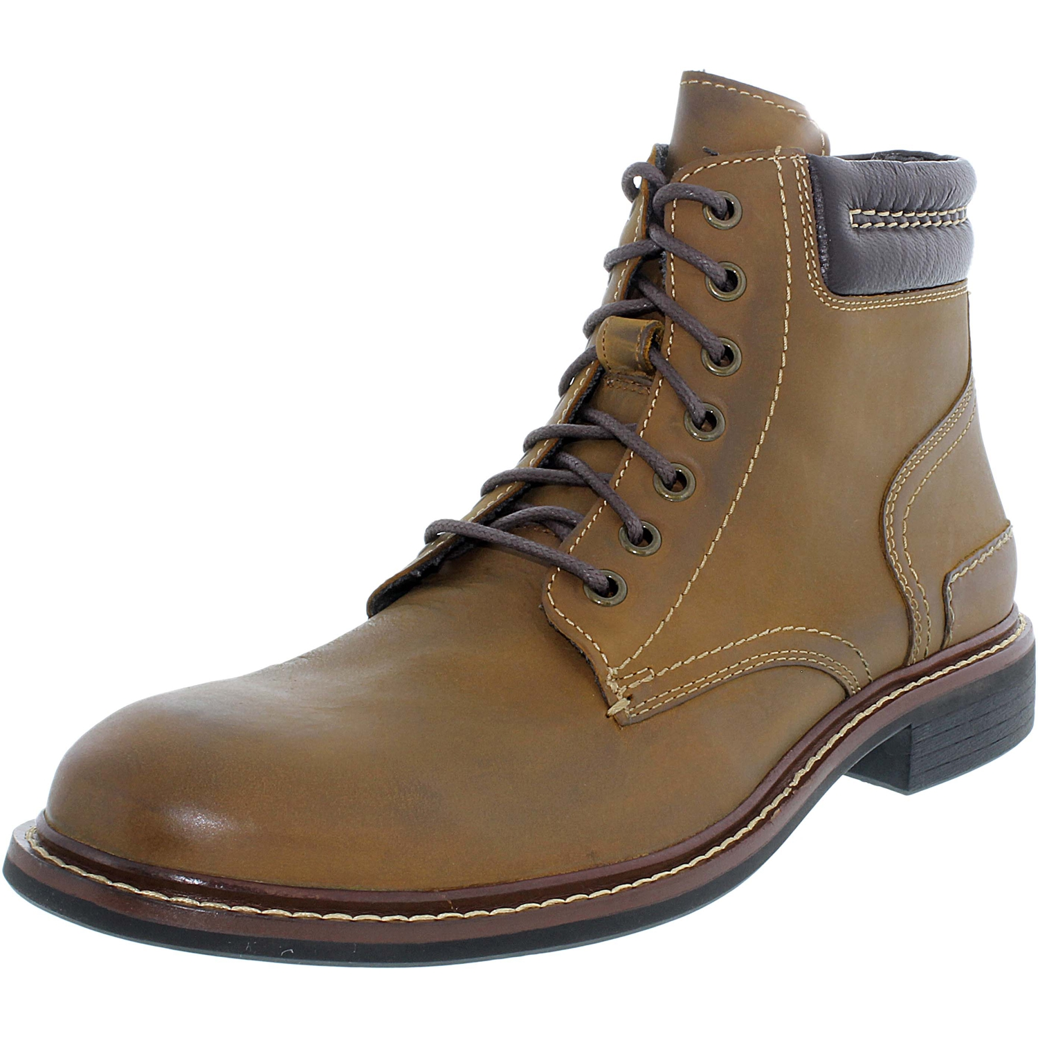 Cole Haan Men's Bryce Lace Boot Hazel Ankle-High Leather Boot - 11.5M