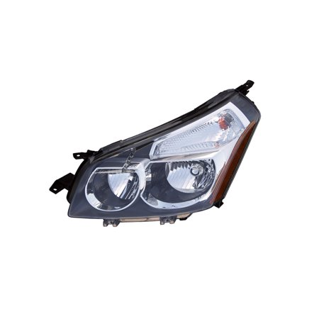 Replacement Driver Side Headlight For 09 10 Pontiac Vibe 88975714 Gm2502327