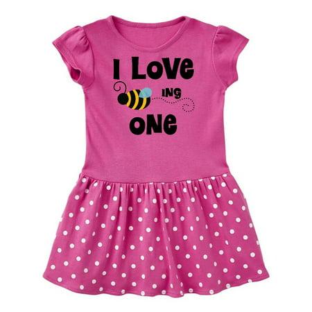 1st Birthday bee Infant Dress - Queen Bee Dress