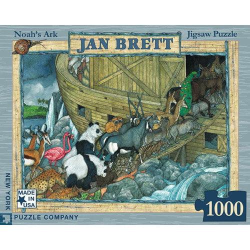 New York Puzzle Company Noah's Ark 1000-Piece Puzzle