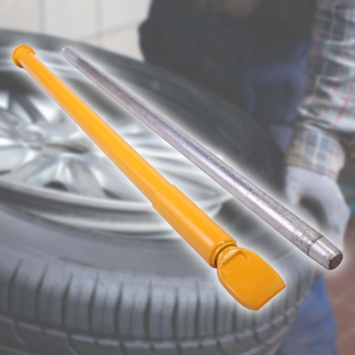 Jaxpety Heavy Duty Impact Tire Slide Hammer Ram Bar Bead Breaker Car Truck Tractor