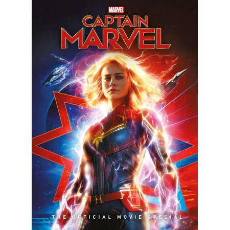 Captain Marvel The Official Movie Special (Hardcover) (Marvel Film Cell Bookmark)