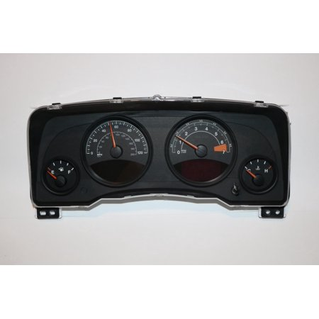 13 14 jeep patriot compass instrument cluster speedometer. Black Bedroom Furniture Sets. Home Design Ideas