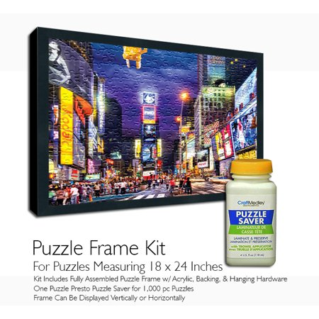 Jigsaw Puzzle Frame Kit - Featuring Craft Medley Puzzle