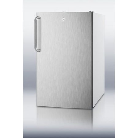Summit CM411LSSTB ; Medically Approved Compact Refrigerator