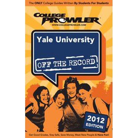 Yale University 2012 - eBook (Yale Halloween Student)