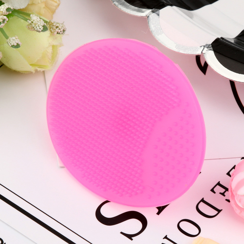 Tuscom Silicone Beauty Wash Pad Face Exfoliating Blackhead Facial Cleansing Brush Tool