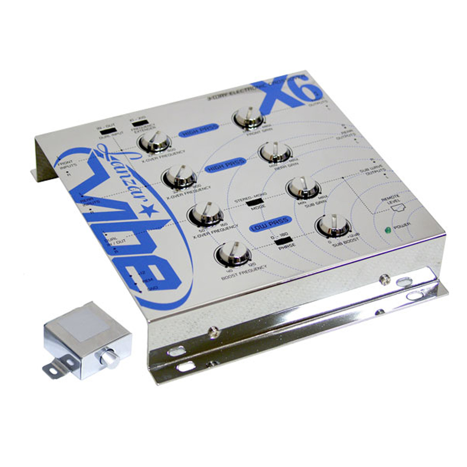 Lanzar Vibe 3 Way Electronic Crossover Network w/Remote S...