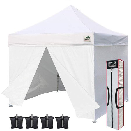 Eurmax 10 x 10 Pop up Canopy Commercial Tent Outdoor Party