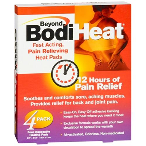Beyond BodiHeat Pads 4 Each (Pack of 2)