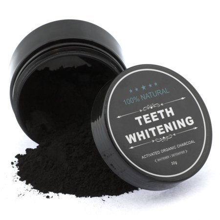 Organic Coconut Activated Charcoal Natural Teeth Whitening Powder Tooth