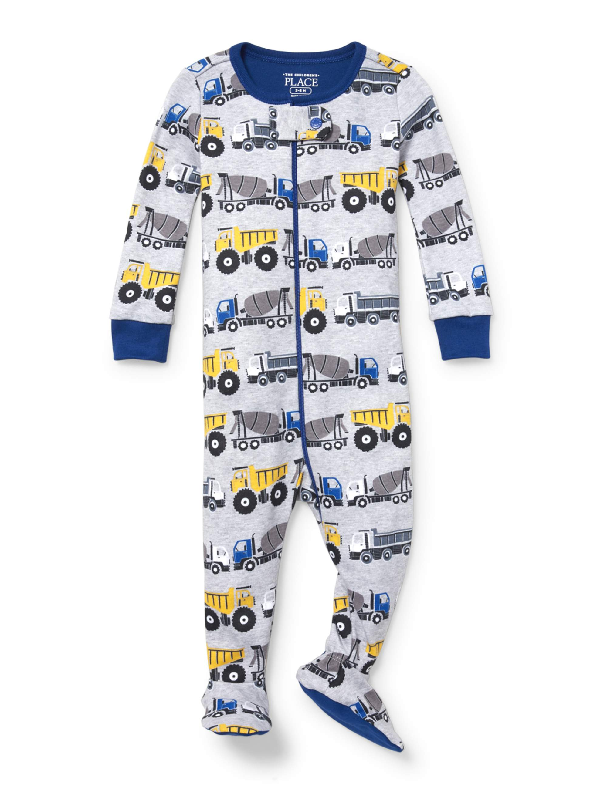 Long Sleeve Snug-Fit Footed Stretchie Pajama (Baby Boys & Toddler Boys)