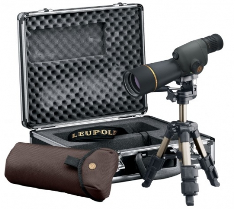Leupold Golden Ring 15-30x50mm Compact Spotting Scope Kit, Shadow Gray by Leupold