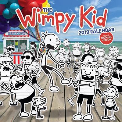 The Wimpy Kid 2019 Wall Calendar